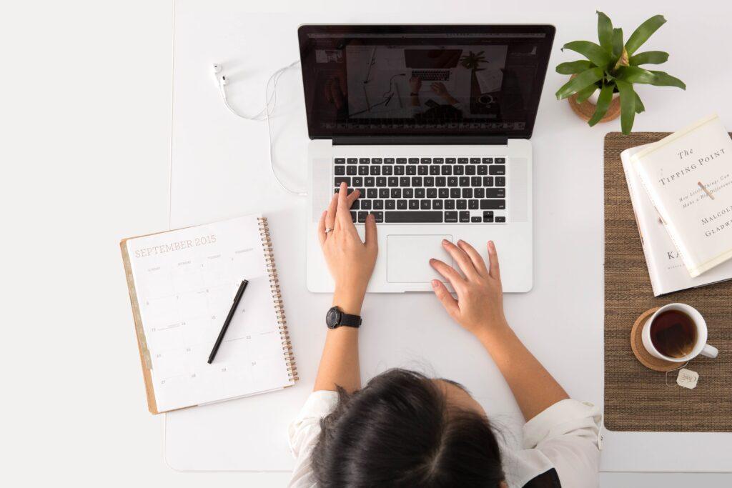 person using MacBook Pro Masterclasses
